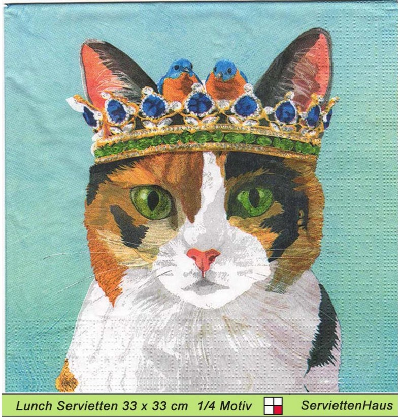 Katze Mit Krone