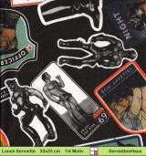 Touko Valio Laaksonen - Tom of Finland Hook up - 1 Lunch Serviette